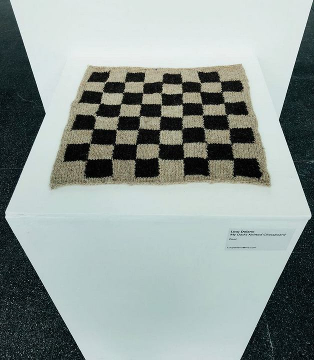A Knitted Chess Board