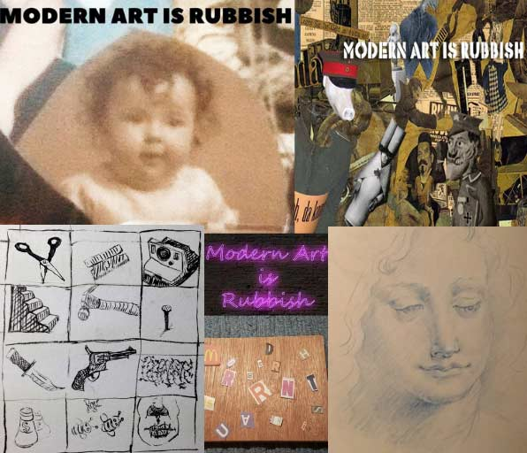 Modern Art is Rubbish Artwork